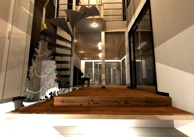 京都市北区のらせん階段のある注文住宅.jpg