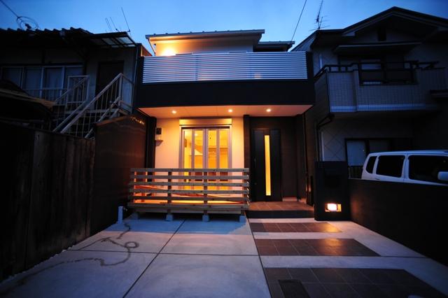 京都市左京区一乗寺 狭小住宅1.JPG