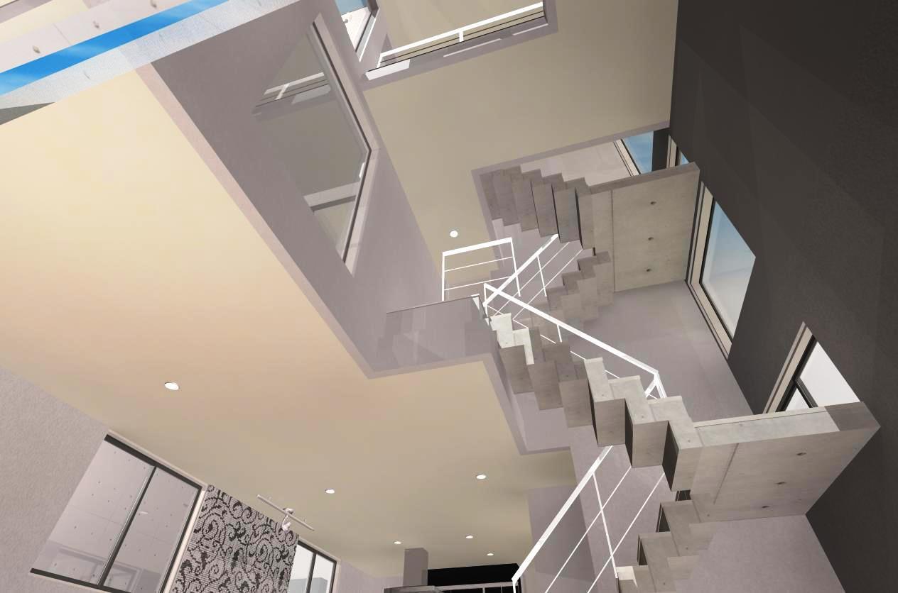 愛知県名古屋市天白区表山にオーナー住宅兼マンションの注文住宅プラン!デザインファーストのご提案!