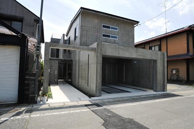 注文住宅 デザイナーズ住宅 京都 外観2.JPG
