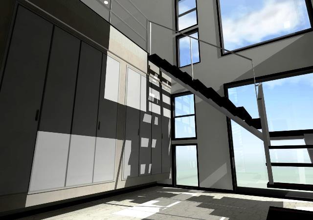 滋賀県大津市に地下駐車場のある二世帯注文住宅プラン!デザインファーストのご提案!