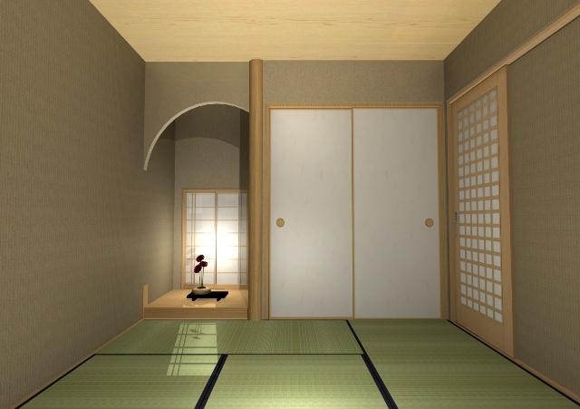 京都市上京区の京都独特の敷地に和モダンな注文住宅プラン!デザインファーストのご提案!