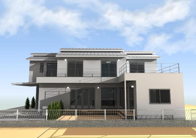 京都市山科区に外観、内観、すべてにおいて特注の注文住宅プラン!