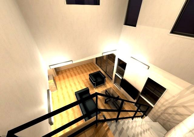 京都市伏見区に高低差のある敷地を利用したモダンな注文住宅プラン!
