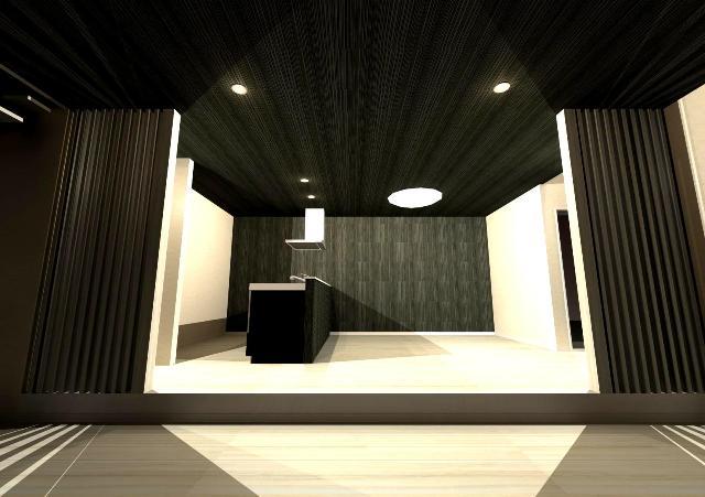 琵琶湖に面した敷地に建つスタイリッシュなデザイナーズリゾート注文住宅プラン!デザインファーストのご提案!