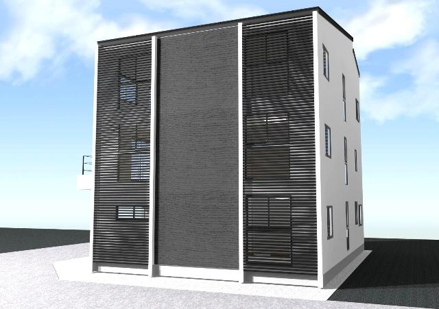 滋賀県草津市の述べ床面積約100坪の注文住宅プラン!デザインファーストのご提案!