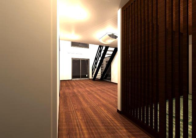 京都府舞鶴市に吹抜けのあるシンプルモダン注文住宅プラン!デザインファーストのご提案!