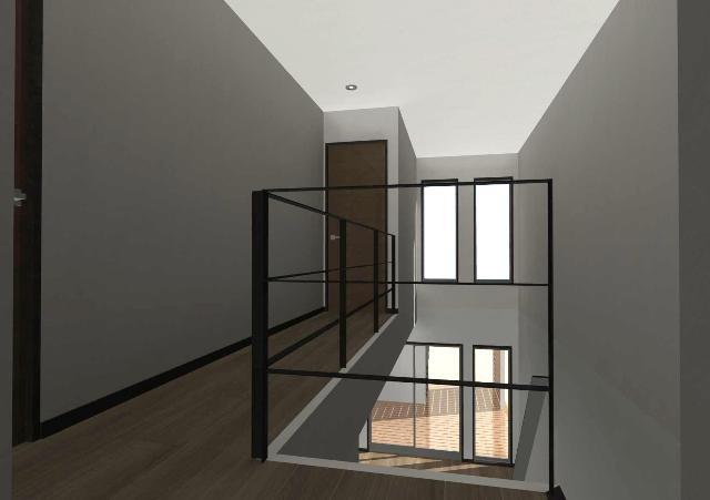 京都市北区に狭小間口の全室明るい注文住宅プラン!デザインファーストのご提案!