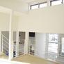 京都府 傾斜地に混構造(RC+木造)のモダン住宅2