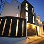 京都市右京区・Rのパティオ、外壁には天然石のナチュラルロブソン、外装、内装までとことんこだわった注文住宅!