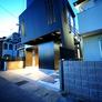 滋賀県大津市膳所|狭小住宅・敷地約24坪の狭小地に木造3階建のシンプルモダンな注文住宅