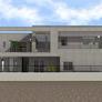 滋賀県大津市の鉄筋コンクリート(RC)造2階建て ガレージハウス(カーハウス)