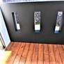 滋賀県大津市の高低差のある敷地に2階リビング、勾配天井、ルーフバルコニーから琵琶湖を一望出来る家